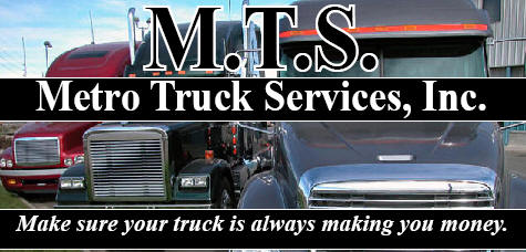 Metro Truck Services is a full service heavy truck repair facility. We have been servicing and repairing heavy duty trucks for transport companies and trucking owner operators for over 30 years. We specialize in repairing heavy duty trucks of all makes of heavy duty trucks including Peterbilt, Kenworth, Freightliner, Volvo, Mack, GMC, Western Star, Mitsubishi, Isuzu, Hino, Ford, Iveco, International and Sterling as well as all medium duty truck makes and models.